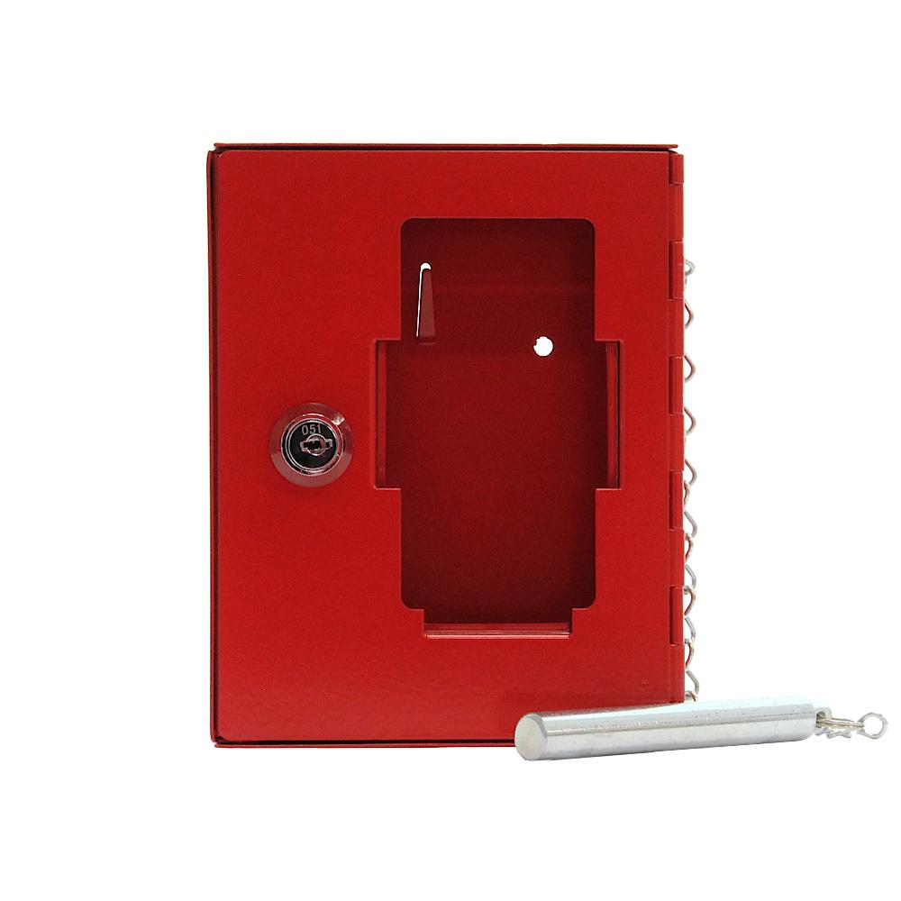 Rottner vészkulcs tároló doboz NSK1 kulcsos zárral piros