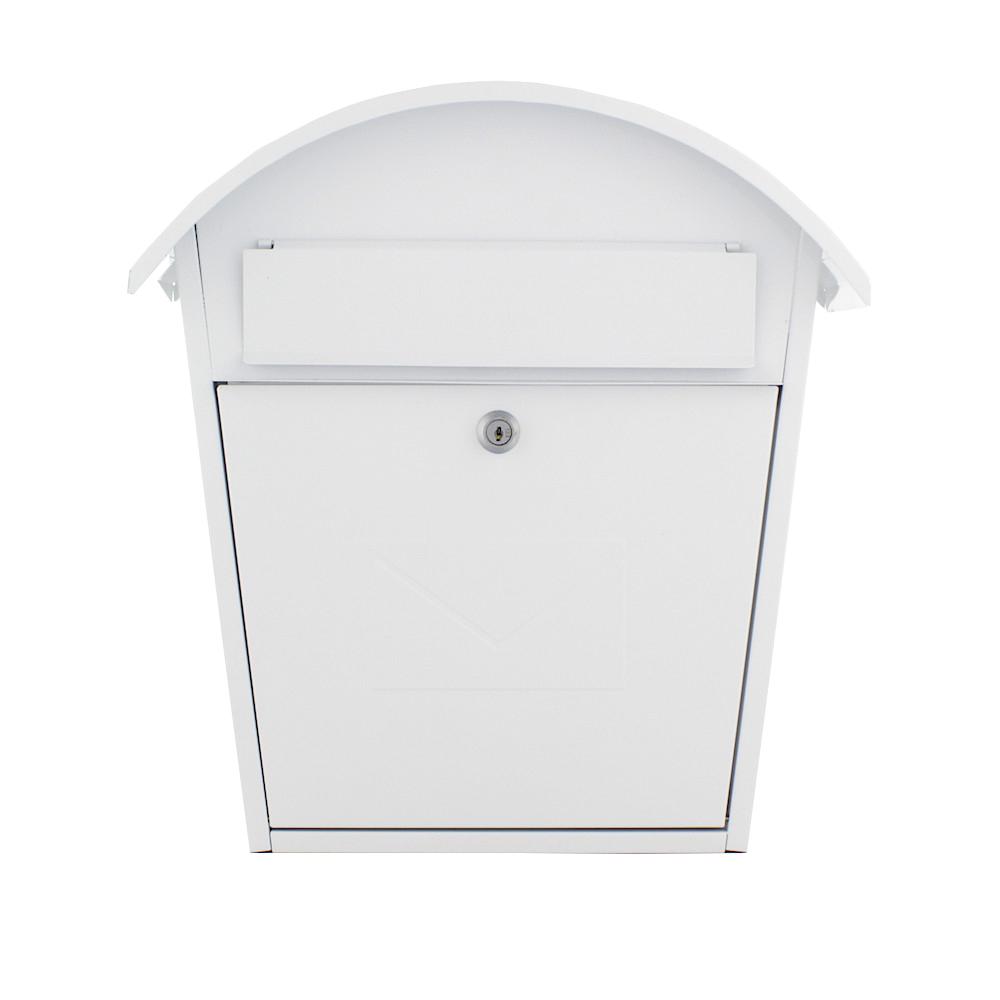 Rottner postaláda Jesolo cilinderzárral fehér