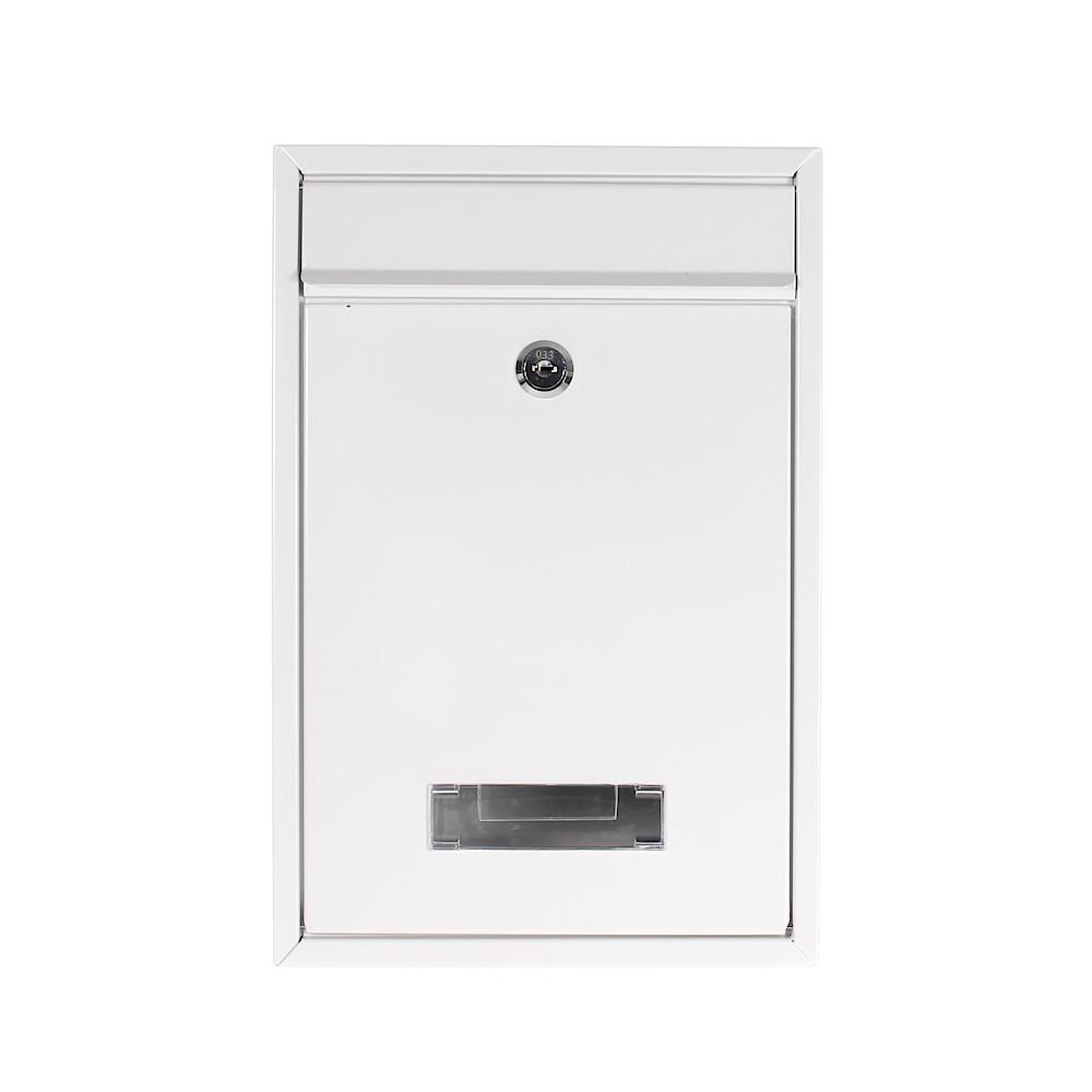 Rottner postaláda Tarvis cilinderzárral fehér