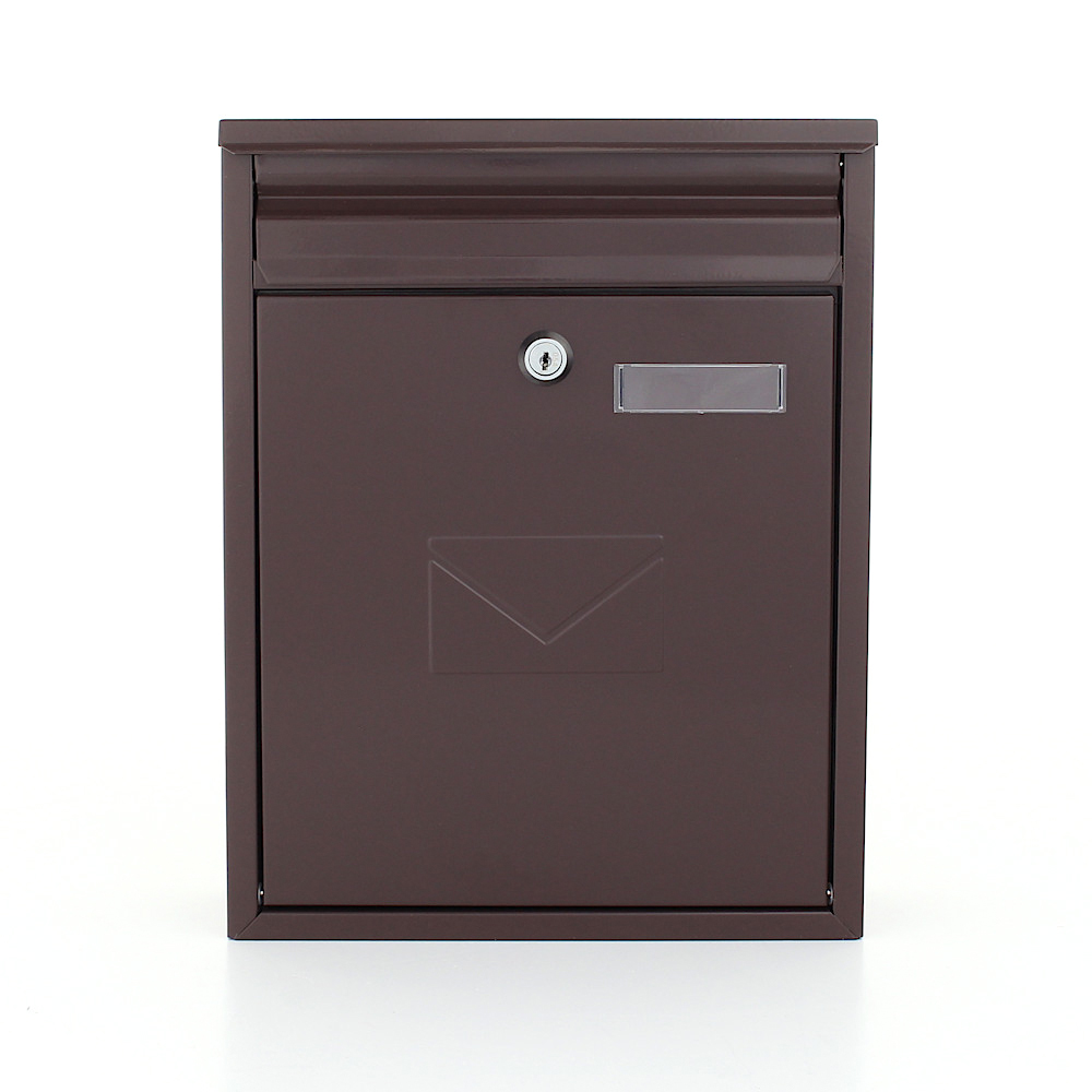 Rottner postaláda Como cilinderzárral barna
