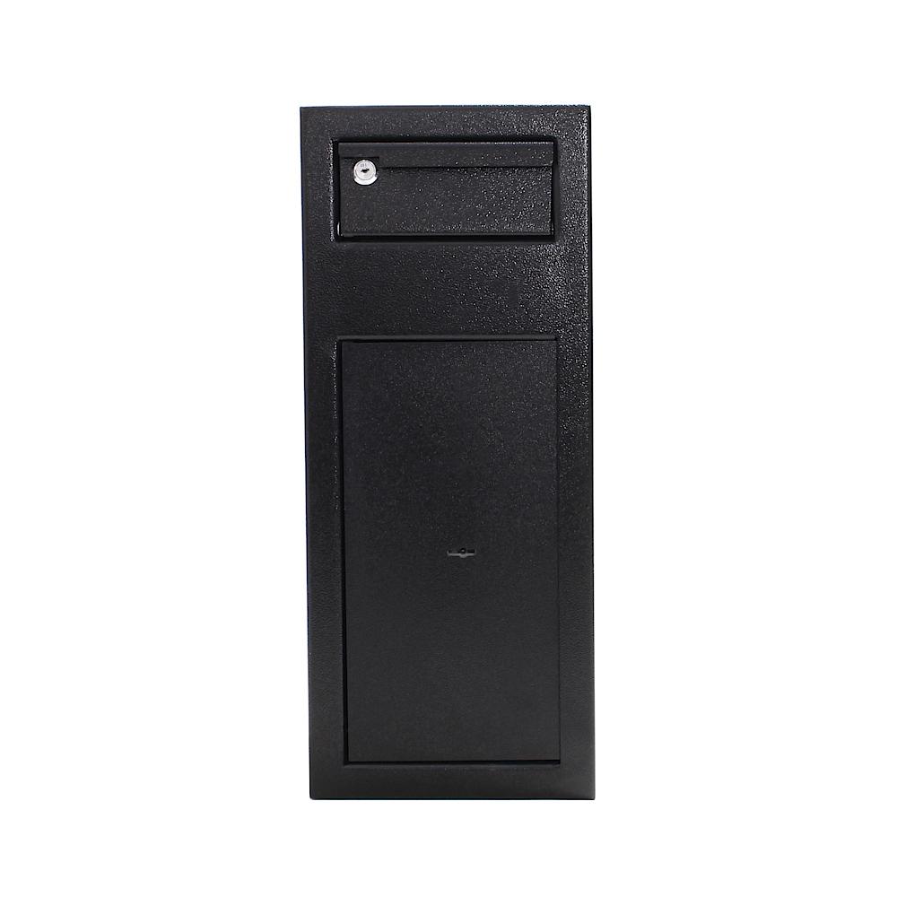 Rottner széf bedobónyilással Mabisz S1 kategória Cashmatic 1 kulcsos zárral fekete