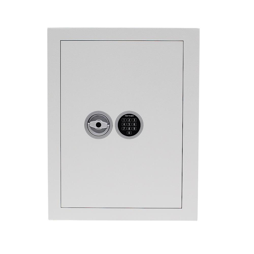 Rottner kulcstároló széf Mabisz E kategória STS 150 EL Premium elektronikus zárral világosszürke