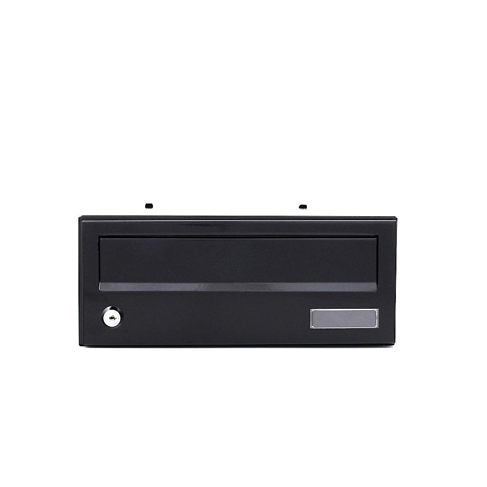 Rottner társasház postaláda Euro ELMMZ cilinderzárral fekete