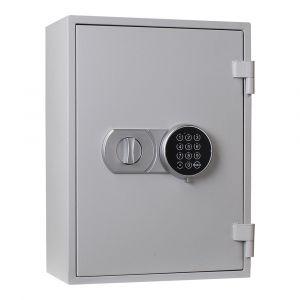 Rottner feuersicherer Schlüsseltresor Fire Key 20 Elektronikschloss lichtgrau