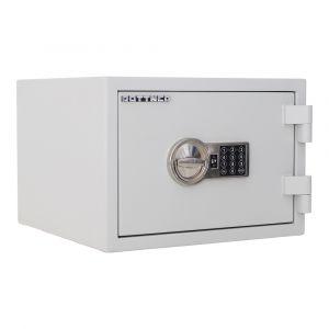 Rottner feuersicherer Dokumententresor S2 Fire Safe 30 Elektronikschloss lichtgrau
