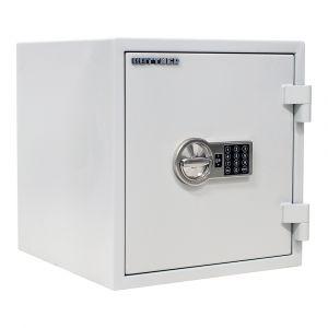 Rottner feuersicherer Dokumententresor S2 Fire Safe 40 Elektronikschloss lichtgrau