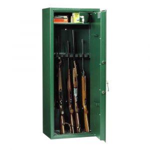 Rottner Munitionsschrank Waffenschrank VDMA A WF140 E5 Premium Elektronikschloss chromoxydgrün