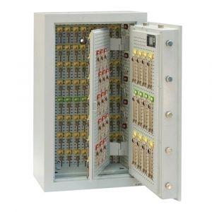Rottner Schlüsseltresor EN1 STS 1300 Premium Zahlenkombinationsschloss lichtgrau